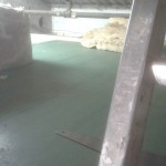 Under this flooring in the loft space is 4 inches of insulation,