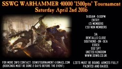 Warhammer 40000 April 2nd 2016