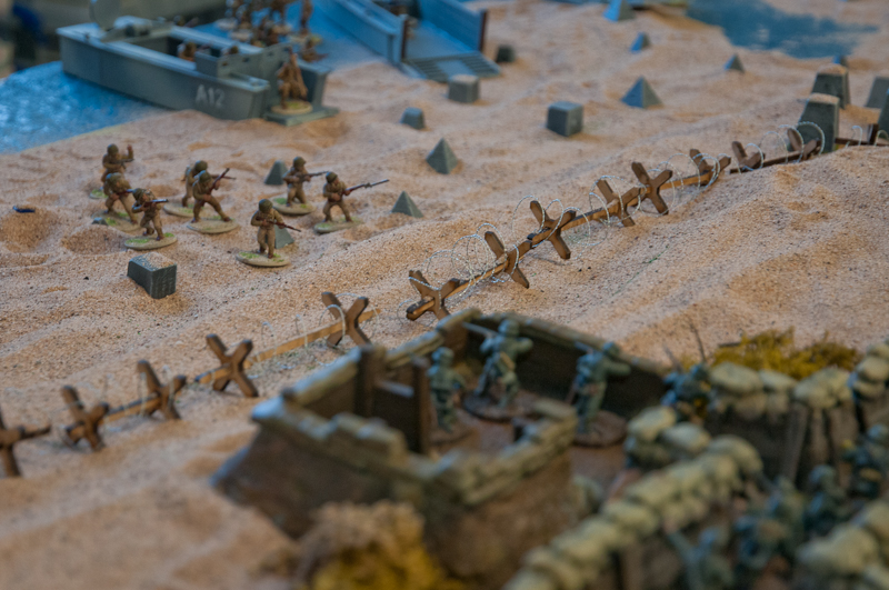Bolt Action SSWG The American forces Land on the Beach